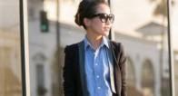 イケてる30代女性の「定番デニムシャツ」の大人流の着こなし方