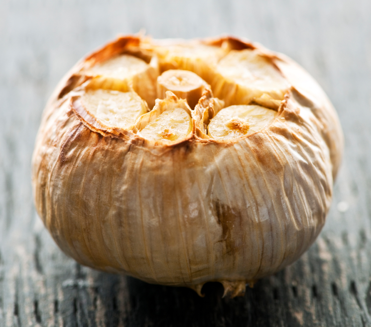 Roasted garlic bulb