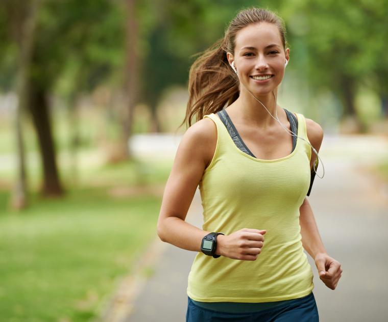 Running is great cardio