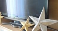 30分で完成!クリスマスに最適な星型立体オーナメントの作り方