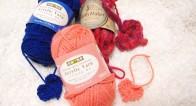 5分で作れた!不器用でも作れる手編みのハートモチーフ