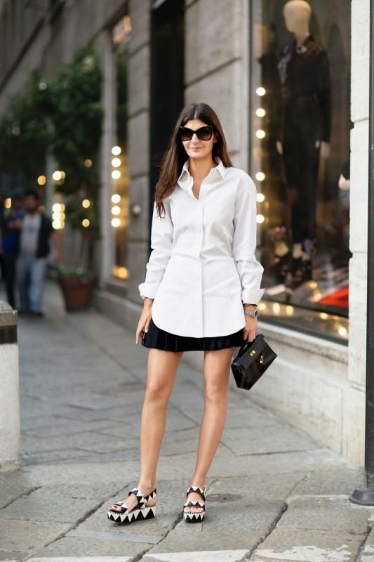 black-and-white-platform-sandals