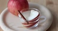 お湯に入れるだけ!美容効果も◎なアップルシナモン白湯