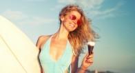 世界一稼いでいる美人モデルがよく食べる「おやつ」は・・・コンビニでも買える●●だった!