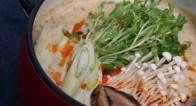 鍋ダイエット!肉なしでも大満足【豆乳の白ごま担々麺レシピ】