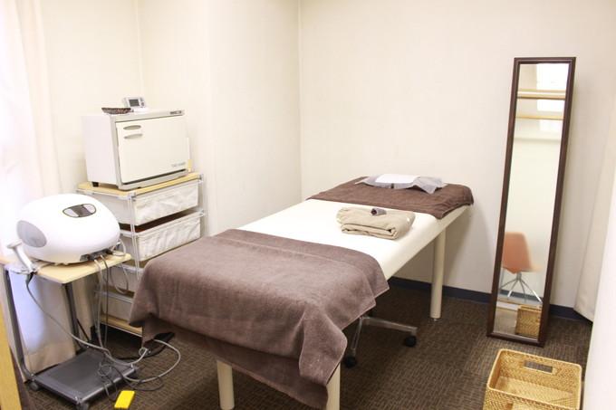 セルライトエステ 体験 施術室