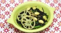 鉄分不足な女子に。ささっと炒めるだけ【ひじき小松菜の豆サラダ】レシピ