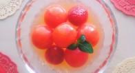 女子限定3stepレシピ!トマトのアンチエイジングスイーツ