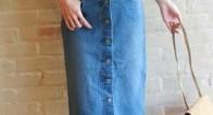 パンツだけじゃない!春にはきたい大人の「デニムスカート」って?