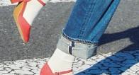トレンドの靴下コーデ実例集♡手持ちの靴でオシャレの幅が広がる!
