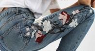 この春の主役服♪【花柄刺繍デニムアイテム】が使いやすすぎる!