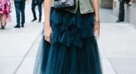 ふんわり♡軽やかなトレンド服「チュールスカート」の大人カワイイ活用術