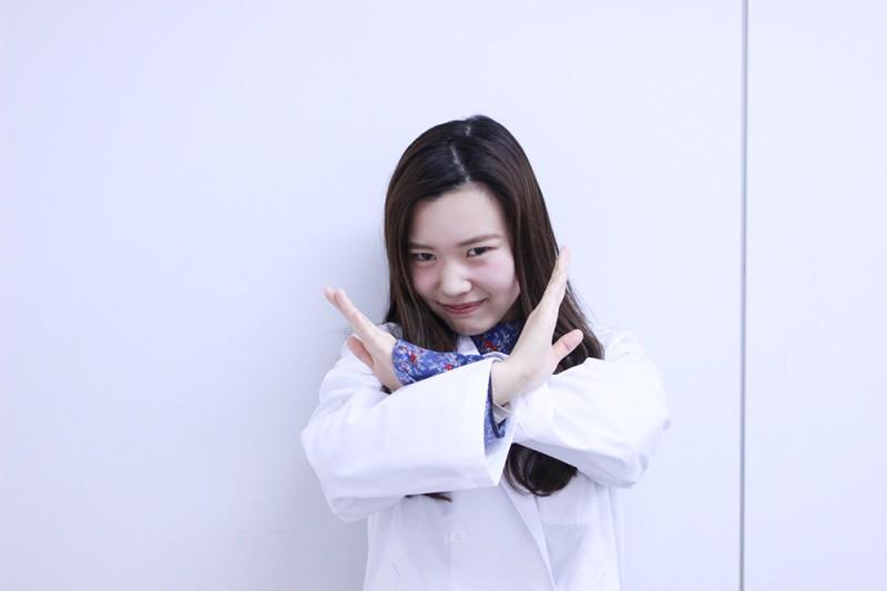 研究員 なおたん(薬学部 薬学科4年生)
