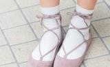 サンダルもパンプスも♡おしゃれな「靴下コーデ」でマンネリを解消!