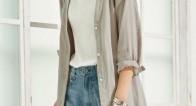 Tシャツの上に着るならコレ!初夏の羽織りものコーデ6選