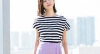 【今っぽさUP♡】周りと差がつく定番「ボーダーTシャツ」の今夏らしい着こなしは?