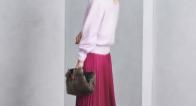 華やか色で寒い季節に彩りを♡パーティーファッションは旬のカラースカートで♪