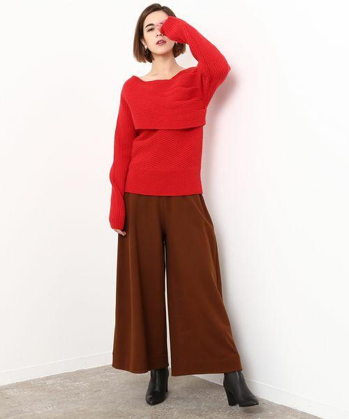 410c261a395d1 クリスマスイベントに トレンドの「赤」で女らしく華やかにドレスアップ ...