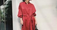 【クリスマスイベントに】トレンドの「赤」で女らしく華やかにドレスアップ♡