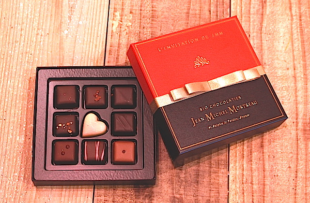 ジャンミシェルモルトー チョコレート バレンタイン